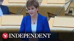 Nicola Sturgeon sets out 'route map' to ease lockdown rules in Scotland