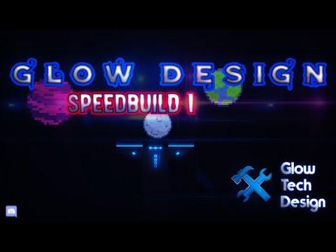 Geometry Dash Speedbuild | Simple Glow Design