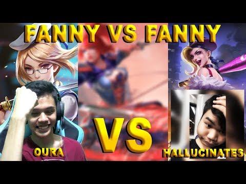 1 V 1 FANNY LAWAN SI THE NEXT ZXUAN , JAGO BANGET!!!!