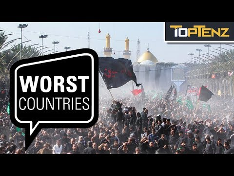 Top 10 Countries Infamous for RELIGIOUS Persecution