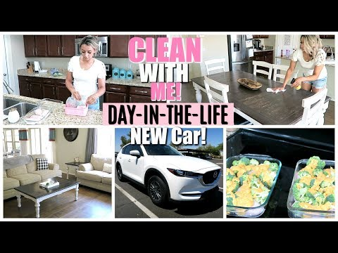 PRODUCTIVE WEEKDAY ROUTINE | CLEANING , COOKING & NEW CAR!! | CLEANING MOTIVATION!!
