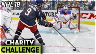 4 GOALS IN 17 SECONDS?! (NHL 18 CHARITY CHALLENGE #2)