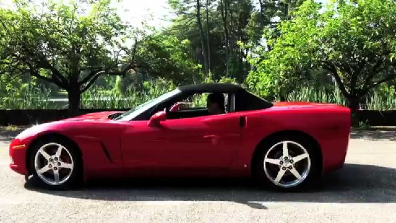 2006 chevrolet corvette convertible for sale at karl chevrolet in new canaan ct youtube. Black Bedroom Furniture Sets. Home Design Ideas
