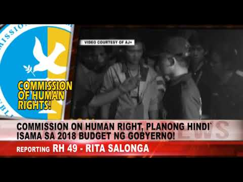 Alam Ba News: Commission on Human Rights, napipintong hindi bigyan ng budget sa 2018 national budget