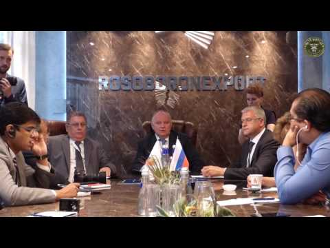 Questions to Alexander Mikheev CEO of Rosoboronexport