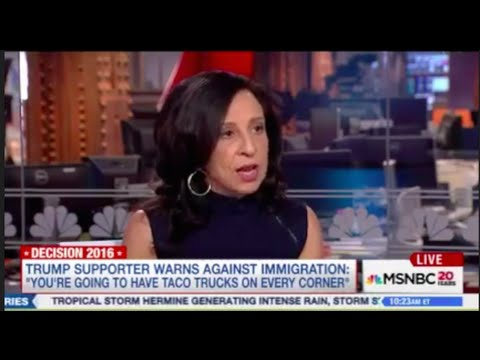 """Maria Hinojosa's MSNBC Comment About """"Taco Trucks on Every Corner"""""""