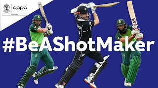 Oppo #BeAShotMaker   New Zealand vs South Africa - Shot of the Day   ICC Cricket World Cup 2019