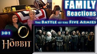 The Hobbit 3 | The Battle of the Five Armies | FAMILY Reactions | 301 | Fair Use