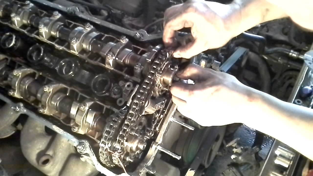 Double Vanos Disassembly Bmw 525i 2003 Complete 1 3 Youtube