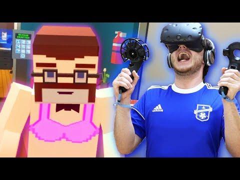 ГОЛЫЙ УСАТЫЙ ТЕРРОРИСТ В ВР! | Just In Time Incorporated VR (HTC Vive VR)