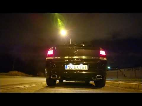 VECTRA OPC 2.8 V6 - Exhaust Soundcheck After Install Custom Exhaust Manifolds By No Exist Motorworks