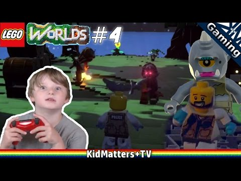 Lego Worlds - Treasure Hunting with Things that go Bump in the Night. Part #4 [KM+Gaming S01E34] thumbnail