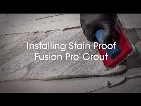 Fusion Pro® Grout Installation Instructions