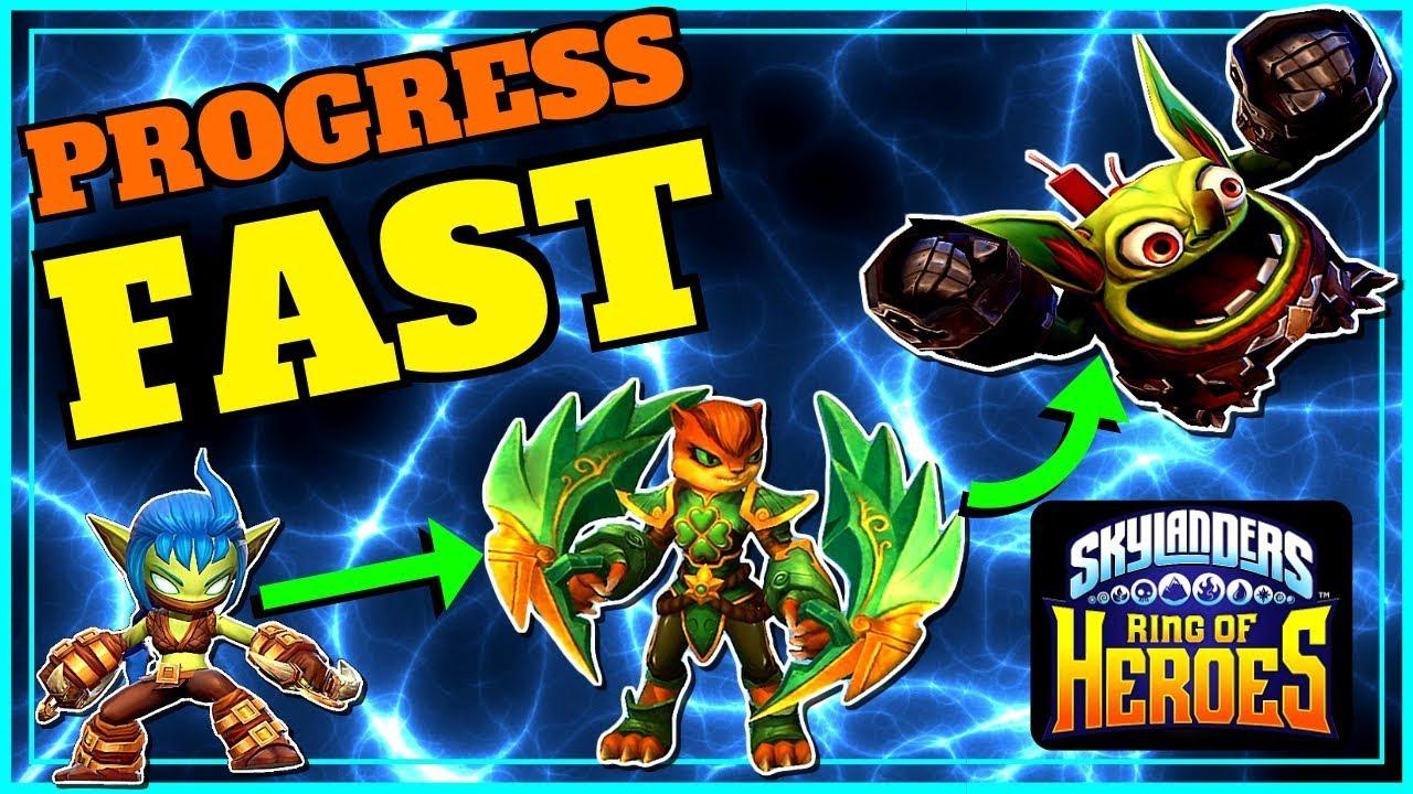 Skylanders Ring Of Heroes Early Progress Guide