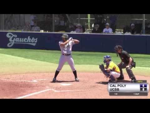 Cal Poly vs. UC Santa Barbara Baseball Series -- May 19-21, 2017