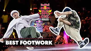 Best Footwork Moments  Red Bull BC One World Final 2019
