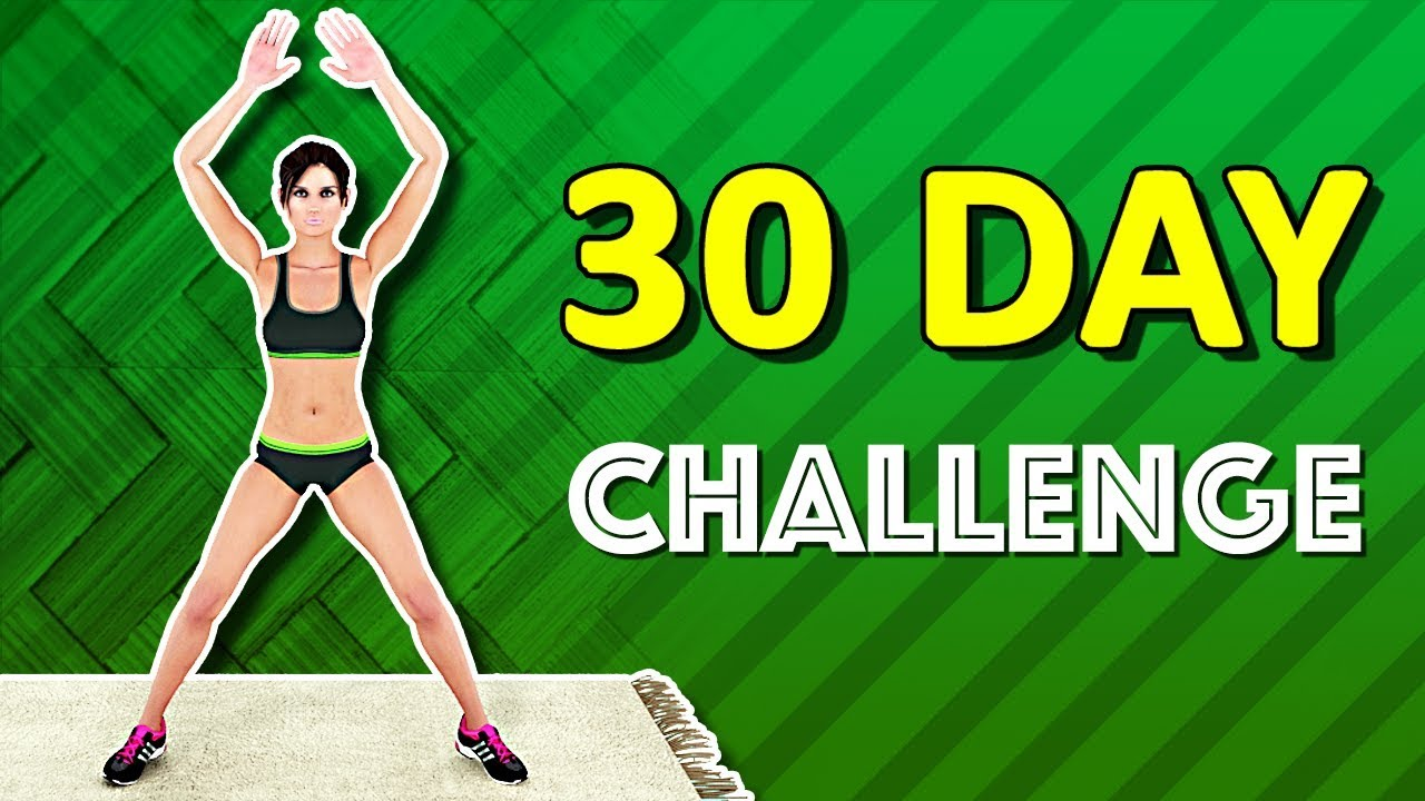 30 Days Weight Loss Challenge [Burn Fat At Home]