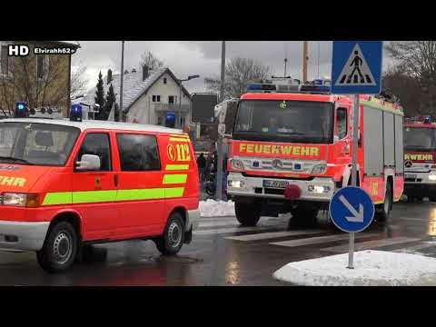 Freiwilliger Feuerwehr Rottweil   Umzug in das neu erbaute Feuerwehrhaus in der Schramberger Strasse
