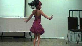 Kandy lamissi-Own choreography by Ranudi(6yr old)-2010