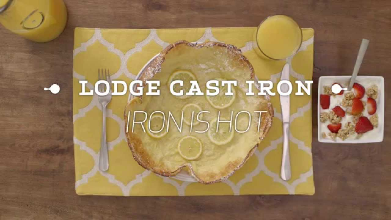 How to Bake a Dutch Baby in a Cast Iron Skillet - YouTube