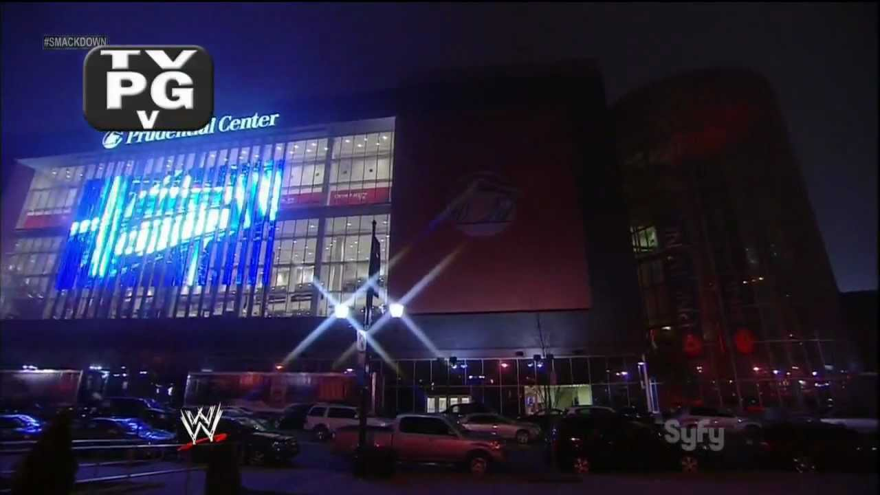 Attending WWE Smackdown in Newark, NJ Prudential Center (3 ...