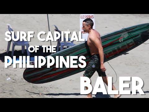 The Surf Capital of the Philippines (Explore Baler, Millenium Tree)