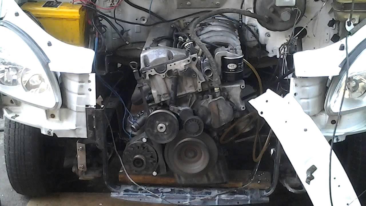 где поставить двигатель от фиата на газель