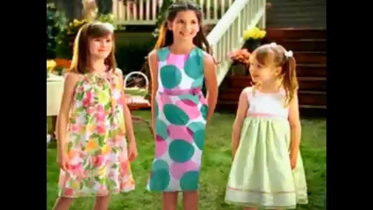 Kmart Department Stores Easter Dresses 2010 Easter TV Commercial HD ...