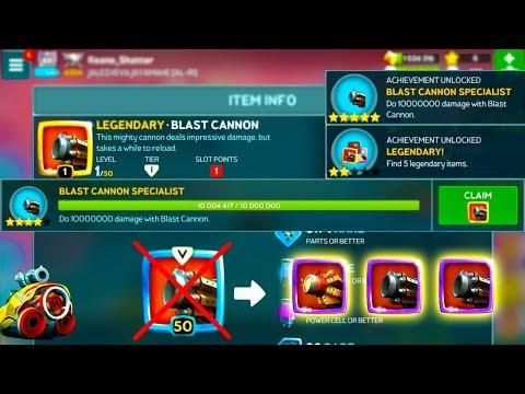 Battle Bay #186 - Got it LEGENDARY BLAST CANNON from Achievement! | Good Bye Rare Blast...