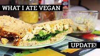 What I Ate In A Day VEGAN #54 // I'm baaa-ack! | Mary's Test Kitchen