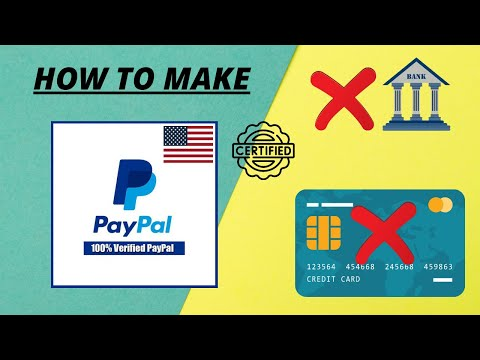 Create Fully Verified USA PayPal Account, With USA Virtual Phone Number 2021 Verified PayPal Account