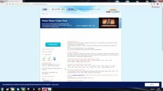 Windows Mediaplayer Codec Pack