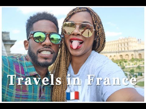 PARIS FRANCE Travel Vlog!  Eiffel Tower, Louvre, Versailles
