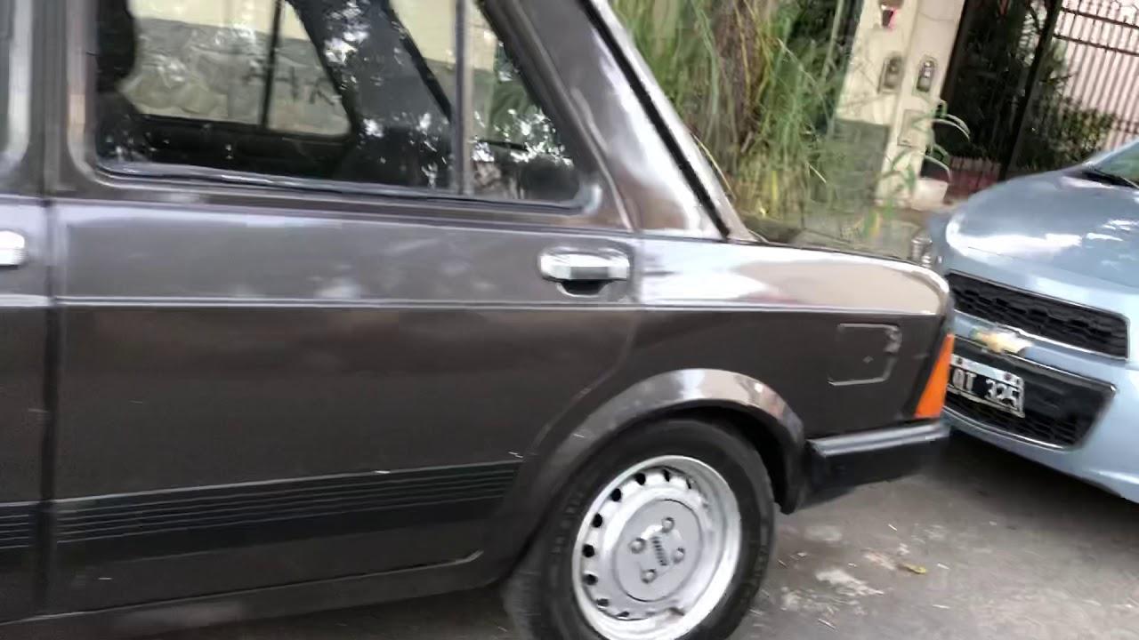 Vendo Fiat 128 S U00faper Europa Modelo 1986 Motor 1500