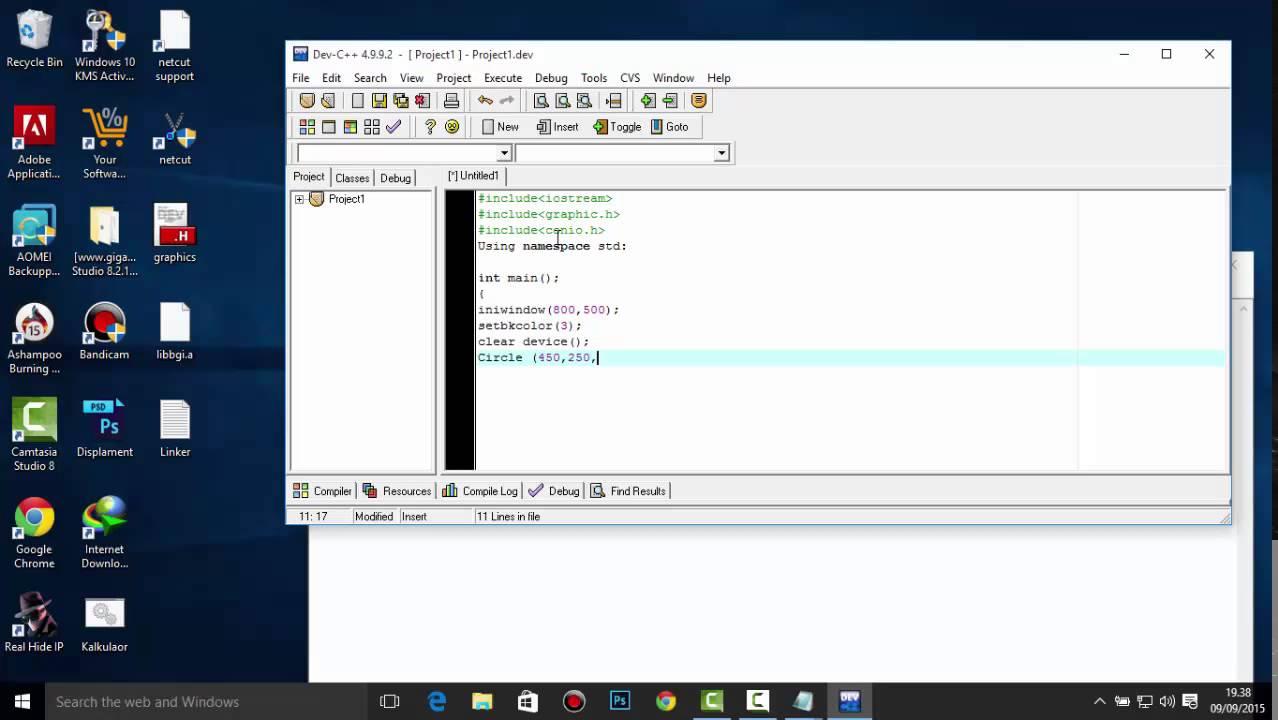 Dev c++ programming tutorial