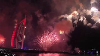 Burj Al Arab - Dubai New Years Eve 2017