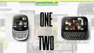 Microsoft KIN One and KIN Two (www.powertext.ch)