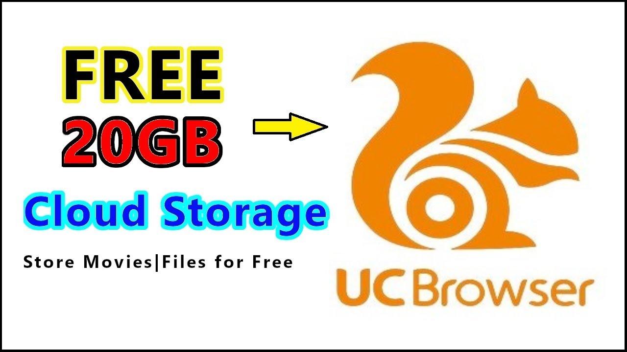 Uc Browser 20gb Free Storage Uc Browser Uc Drive Youtube