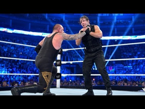 The Undertaker feels the brutal wrath of The Shield: SmackDown, April 26, 2013
