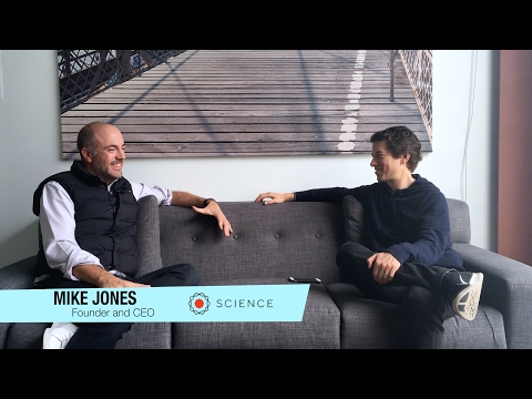 Founder and CEO of Science Mike Jones | Please Hold 25