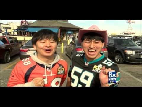 Super Bowl 50 Fans Show Their True Colors