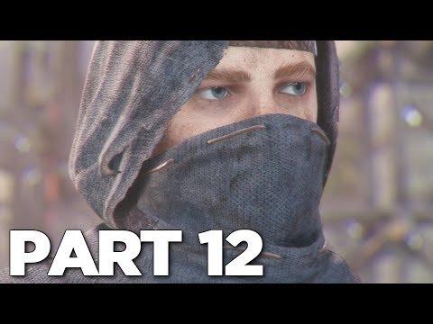 A PLAGUE TALE INNOCENCE Walkthrough Gameplay Part 12 - CLUSTER (PS4 Pro)