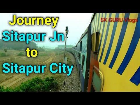 Full Journey Sitapur Junction To Sitapur City 🚂🚂🚂 | SK GURU Vlogs