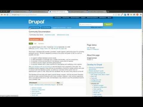 Drupal 7 Module Development Part 6 - Form API and Database inserts - Daily Dose of Drupal Episode 21