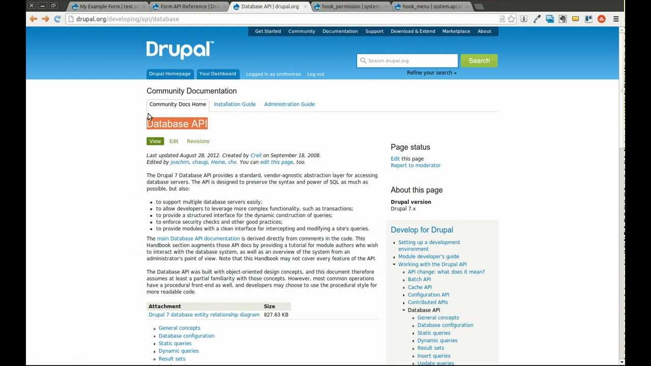 Drupal 7 Module Development Part 6 - Form API and Database inserts - Daily  Dose of Drupal Episode 21