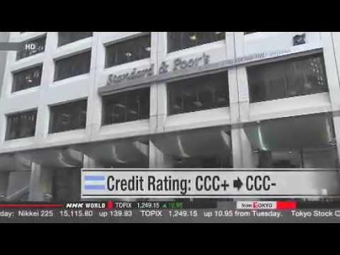 S P cuts Argentina's credit rating
