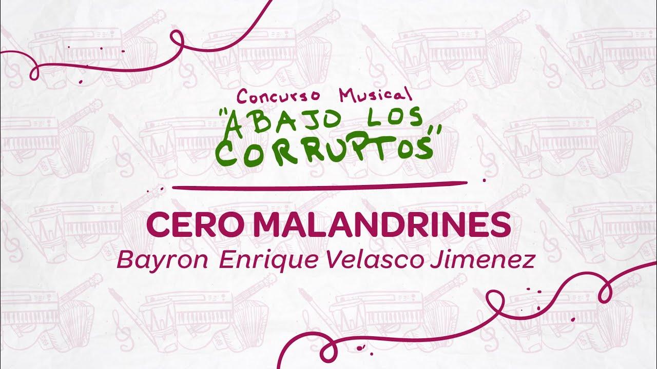 """""""Abajo los corruptos"""" canción cartagenera ganadora de convocatoria Distrital"""