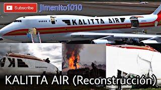 KALITTA  AIR BOEING 747-200FM  Crash in Bogotá Colombia (Reconstruction)