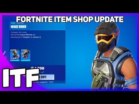 Fortnite Item Shop Update *NEW* WAKE RIDER SKIN! [May 4th, 2021] (Fortnite Battle Royale)