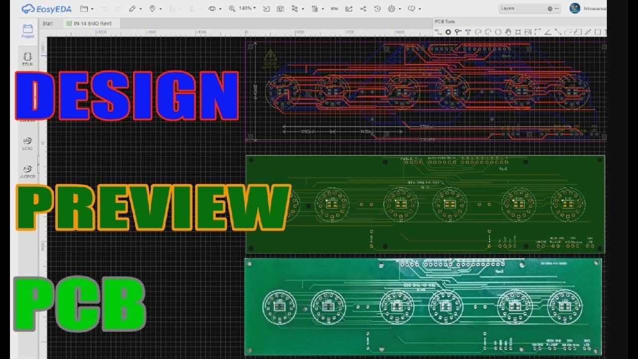 EasyEDA Simple And Free Online PCB Design Tool - How To Make A ...